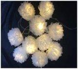 Cordón del LED/bola de la flor con el rectángulo de batería 2AA