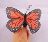 Giocattolo su ordinazione della peluche del burattino della barretta della peluche della farfalla di simulazione