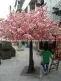 Albero artificiale del fiore di ciliegia dell'ornamento della decorazione di cerimonia nuziale