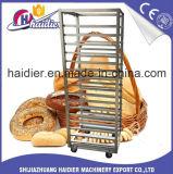 Chariot à crémaillère de traitement au four de chariot à acier inoxydable/chariot nourriture de pain