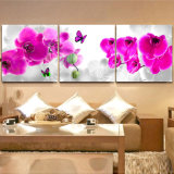Печати холстины цветка картины маслом изготовленный на заказ большого декора искусствоа стены дома размера красивейшие