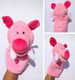 Marionetas de mano animales suaves de la felpa