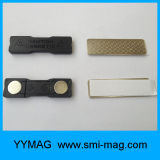 Nametag magnétique réutilisable et support d'insigne nommé magnétique