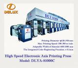 Máquina de impressão eletrônica de alta velocidade do Rotogravure do eixo (DLYA-81000C)