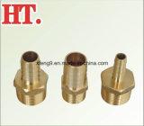Ajustage de précision mâle en laiton d'adaptateur de picot de boyau (identification x MIPs)