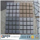 Pietra per lastricati grigia poco costosa del granito G603 della Cina/pietra ciottolo/del cubo sulla maglia