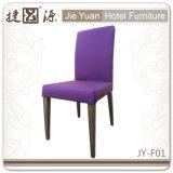 Restaurante de madeira da mobília do hotel do metal do revestimento que janta a cadeira (JY-F01)