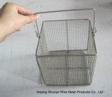 Paniers de treillis métallique d'acier inoxydable du filtre 304 de friture