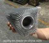 Personnalisé 6063/6061 profil en aluminium de radiateur d'extrusion de grande section