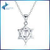 925 pendente di angolo della stella dell'argento sterlina sei con lo Zircon libero per le collane dei monili delle donne
