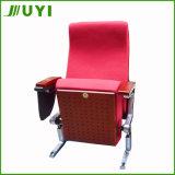 Jy-606m Assento de braço de madeira Leitão de teatro Cadeira de sala de funções Salões de escola