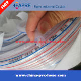 Boyau de force de fibre de PVC pour le pétrole de l'eau de transport