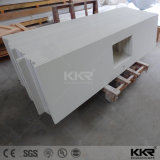 Kundenspezifischer langer Größen-Badezimmer-Quarz-KücheCountertop