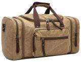 8642 Gepäck-Unisexsegeltuchholdall-Arbeitsweg-Beutelweekender-Beutel für Männer und Frauen weitermachen