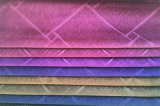 Tessuto 100% di tessile impresso del poliestere del velluto (EDM5152)