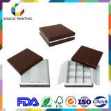 Rectángulo de papel de lujo de la categoría alimenticia de Eco-Frindly con insignia modificada para requisitos particulares