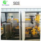 Het Regelende en Metende van de Steunbalk Apparaat van het steunbalk-opgezette Aardgas