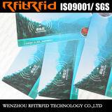 bilhete impermeável da etiqueta RFID da cor 13.56MHz
