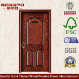Двери классицистического типа твердые деревянные для вилл (GSP2-029)