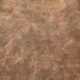 Cuero sintetizado suave gris vendedor caliente de la PU 2017 para el bolso del zapato (E6082)