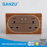 Nuevo interruptor de la pared del diseño 2gang 13A al por mayor