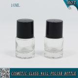 La mini bottiglia su ordinazione 10ml del polacco di chiodo svuota la bottiglia di vetro del polacco di chiodo del gel