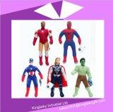 報復者の同盟のトールかスーパーマンのスパイダーマンの人形のプラシ天のマンガのキャラクタの在庫