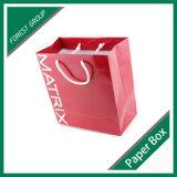 Bolsa de papel mate impresa insignia de encargo (FP8039126)