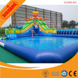 Kids Sport Gymnastic Water Floating Inflatable Playground para venda
