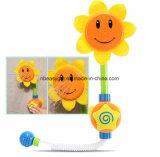 Aerosol de la ducha del agua de los juguetes del baño del bebé del girasol que baña los juguetes de la fuente de la tina para los regalos del cabrito