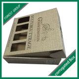Cadre de empaquetage de boîte-cadeau pliable de luxe de cadre de papier