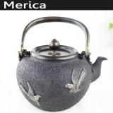 Teapot clássico chinês do ferro e do potenciômetro japonês de bronze do chá