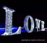 LED Urlaub Weihnachtslicht-Hochzeits-Dekoration im Freien