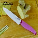 Cuchillo Cuchillo de cocina Utensilios de cocina del cocinero de cerámica de 6 pulgadas