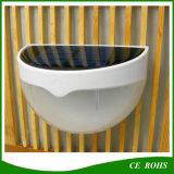 6 éclairages solaires extérieurs de petite de jardin de DEL lumière extérieure solaire de mur avec le détecteur de mouvement