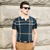 고품질 온화한 남자 폴로 셔츠 스포츠 착용 골프 옷