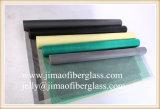 Red revestida de la pantalla de la ventana de la fibra de vidrio del PVC