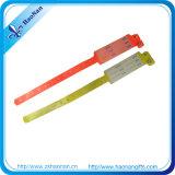 Kundenspezifische förderndes Silkscreen-Drucken weiche Kurbelgehäuse-BelüftungWristbands