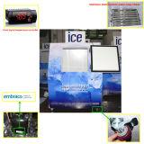 屋外の氷の収納用の箱及び氷のマーチャンダイザー