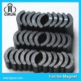 Изготовленный на заказ магниты феррита генератора мотора формы дуги