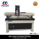 Router do CNC para o bronze acrílico do alumínio do PVC da madeira
