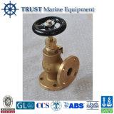 JIS F7302/7304 5kg/Cm2 16kg/Cm2 Form-Bronzen-Marineeckventil