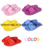 Новый Flop Flip ванной комнаты сандалии пляжа массажа тапочек ЕВА женщин конструкции