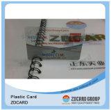 オフセット印刷PVCプラスチック透過メンバーのカード