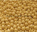 Шарики глинозема 99% керамические использующ в шарике глинозема индустрии белом