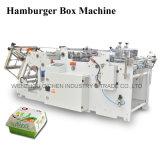 Máquina de alta velocidad de calidad superior de la fabricación de cajas de la torta 2016 (QH-9905)
