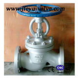 Agua Válvula de globo con bridas Wcb