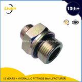 Adaptador hidráulico de la pipa del anillo o masculino de Bsp del asiento del varón 60 de Bsp