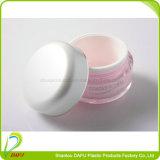 Frasco cosmético plástico por atacado da forma redonda