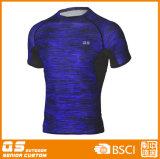 T-shirt Running do esporte do Melange dos homens